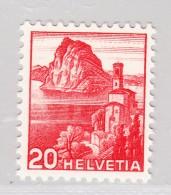 Schweiz 1938   #215y.2.01 San Salvatore Doppelprägung - Variétés