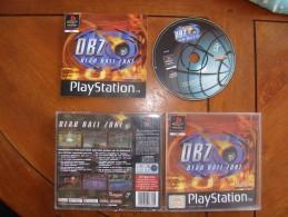 JEU VIDEO SONY PLAYSTATION 1 - DBZ DEAD BALL ZONE - VERSION FRANCAISE - COMPLET AVEC NOTICE - Sony PlayStation