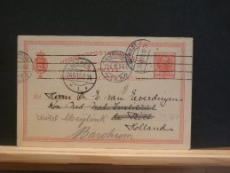 59/464  CP  TO HOLLAND 1910 - Enteros Postales
