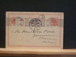 59/463  CP  TO HOLLAND 1910 - Interi Postali
