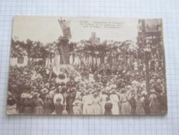 CARTE POSTALE Ancienne De CLARY Nord 59 Inauguration Monument En 19?? Avec énorme Animation - Altri Comuni