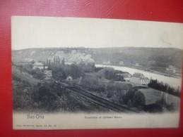 Bas-Oha : Panorama Et Chateau Blanc + Publicité Au Dos (B3759) - Huy