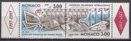"""MONACO 1997 DUO N° 2082/3 """" OFFICE DES EMISSIONS DETIMBRES  """" NEUF ** - Nuovi"""