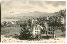 Montreux Panorama C.P.N 1205 1904 - VD Waadt