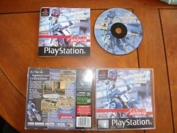 JEU VIDEO SONY PLAYSTATION 1 - JEREMY McGRATH SUPERCROSS 2000 - COMPLET AVEC NOTICE - VERSION FRANCAISE - Sony PlayStation