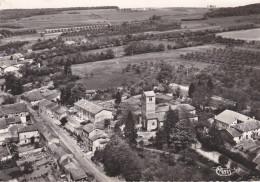 CPSM Dentelée NB De TONNOY  (54)  -  Vue Aérienne - L' Eglise Et La Rue Du Moulin  //  TBE - Frankrijk