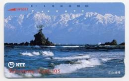 Mer Rocher Mer Plage Montagne Télécarte  Phonecard  W356 - Landscapes