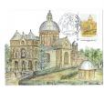 FRANCE Carte Maximum  Basilique N-D De Bonsecours SAINT-AVOLD  Timbre Issu De Collector+ Obl Illustrée Logo Jubilé-rare- - Christentum