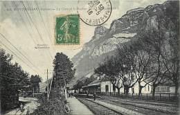 - Depts Div.-ref -GG837- Savoie - Montmelian - Gare - Gares - Ligne De Chemin De Fer - Lignes De Chemins De Fer - Transp - Montmelian