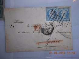 Lot Du 09-06-2016_10_liquidation Collection  Roulette. Gros Point 3401. Ind. 18.sur  N°14 .superbe!!verso!!! - 1853-1860 Napoléon III.