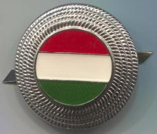 HUNGARY - Police, Insignia For Cap, Diameter: 35mm - Police