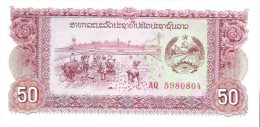 Laos - Pick 29 - 50 Kip 1979 - Unc - Laos