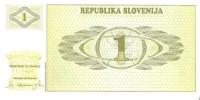 Slovenia - Pick 1 - 1 Tolar 1990 - Unc - Slovenia