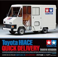 Toyota Hiace Quick Delivery Tamiya Version 1/24 (  Tamiya ) - Trucks And Trailers