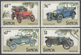 Samoa 1985 Nº576/79 Coches Nuevo - Cars