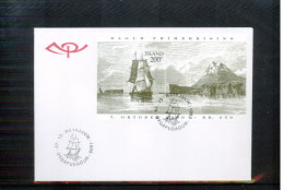 Island / Iceland 1999 Stamp Day Michel Block 24 FDC - 1944-... Republique