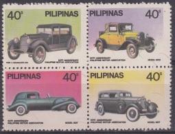 Filipinas 1981 Nº 1244/47 Coches Nuevo - Cars