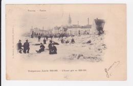 Temse - Dichtgevrozen Schelde 1890-1891. - Temse