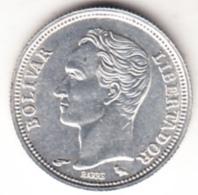 VENEZUELA 1960. 50 CENTIMOS.PLATA  .TIPO BOLIVAR.NUEVA SIN CIRCULAR   CN 4507 - Venezuela