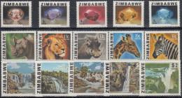 Zimbabwe 1980 Nº 1/15 Nuevo - Zimbabwe (1980-...)