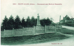 SAINT ALGIS Monument Aux Morts - Andere Gemeenten