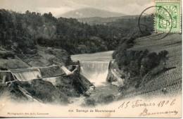 Suisse. Barrage De Montcherand - VD Vaud