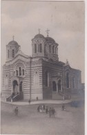 Carte Photo,BULGARIE,BALGARIJA,BULGARIA,SOFIA EN 1919,avec Timbre,église Russe,prés Iskar,vitocha,balkans,church - Bulgarie