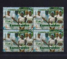 Ecuador 2009, 4-block, $4 Esmeraldas, Vfu - Ecuador