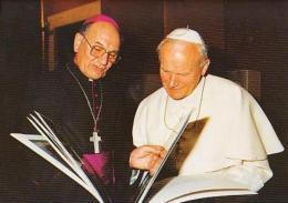 RELIGION       H37       Jean Paul II ( Cathédrale D'Evry ) - Papes