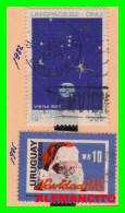 URUGUAY  ( AMERICA ) 2 SELLOS AÑOS 1982 - Y - 85 - Uruguay
