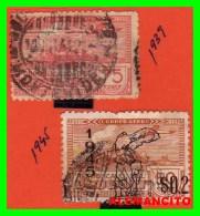 URUGUAY  ( AMERICA ) 2 SELLOS  AÑO 1939 -  Y -  45 - Uruguay