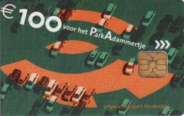 Transport Carte, Parking Carte Amsterdam 100 €, Netherlands, Chip, Auto, Voiture,.. - Moteurs