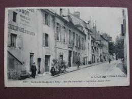 CPA 39 LONS LE SAUNIER Rue Du Puits Salé Institution Jeanne D'Arc 1905 - Lons Le Saunier
