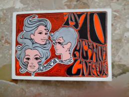 Calendrier Vintage COIFFURE PIERRE SAINT OUEN 1970 - 11cmx7cm - Visage Coiffure Dame - 55 Avenue Du Capitaine Glaner - Petit Format : 1961-70