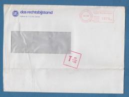 210036 / 1988 - 075 Ct. 1110 AC DIEMEN POSTBUS 130 , POSTAGE DUE 25/100 DAS DAS RECHTTSBIJSTAND , Netherlands Nederland - Period 1980-... (Beatrix)