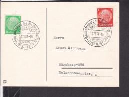 "Sonderstempel  "" Frankfurt Gaukulturwoche "" 1937 - Briefe U. Dokumente"