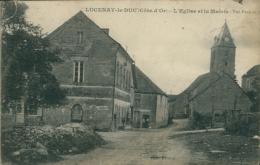21 LUCENAY LE DUC / L'Eglise Et La Mairie / - France