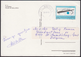1993 - ESPANA - Card + Y&T 2843 (Joan Miro I Ferrà) + EL ARENAL - 1931-Aujourd'hui: II. République - ....Juan Carlos I