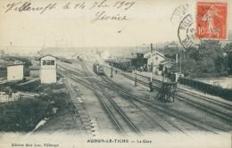 57 AUDUN LE TICHE / La Gare / CARTE RARE - Altri Comuni