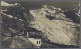 Jungfraubahn Station Eigergletscher Mit Eiger Und Mönch   1925y.     C517 - BE Berne
