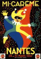 PUBLICITES - COCA COLA - MI CAREME De NANTES - Arlequin - Advertising