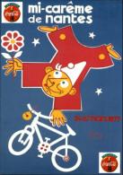 PUBLICITES - COCA COLA - MI CAREME De NANTES - Cirque - Advertising