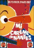 PUBLICITES - COCA COLA - MI CAREME De NANTES - - Advertising