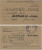 CARTOLINA PRIGIONIERI POW CAMP SUD AFRICA ZONDERWATER 1942 X SAMMICHELE - 1900-44 Vittorio Emanuele III