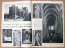 """Magazine Avec Article """"5me Centenaire De La Collégiale De Ste Waudru à Mons"""" 1950 - Vieux Papiers"""