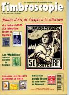 Timbroscopie N.135,Tunisie,Médaillons Belgique,Jeanne D´Arc,classique France Etranger Baltique 1854-5,Danemark Ondulée - Magazines