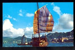 Hong Kong - The Harbor / Postcard Not Circulated, 2 Scans - Cina (Hong Kong)