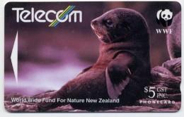 Phoque Seal Animal Télécarte Phonecard  W378 - Nouvelle-Zélande