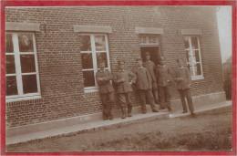 67 - ESCHBURG - ESCHBOURG - Cachet GRAUFTHAL - Carte Photo - Soldats Allemands - Feldpost - Guerre 14/18 - 4 Scans - Francia