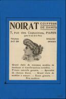 COIFFEURS - CHEVEUX - Pub Issue D´une Revue De 1906 Collée Sur Feuille - Publicités